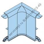 Внутренний угол для алюминиевого плинтуса PKAA 40